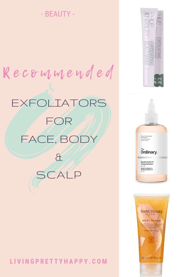 Recommended exfoliators for face, body & scalp - Living